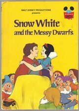 SNOW WHITE AND THE MESSY DWARFS ~ Disney's Wonderful World Of Reading Book