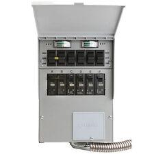 Reliance Controls Pro/Tran 2 - 50-Amp (120/240V 6-Circuit) Transfer Switch w/...