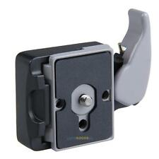Black Camera 323 Quick Release Clamp Adapter for 200PL-14 Compat Plate Mount NEW