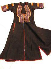 FOLK BULGARIA-SERBIA DRESS 19TH. CENTURY OVERDRESS TUNIC TINSEL MET MUSEUM