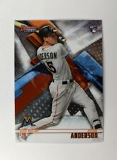 2018 Bowman's Best Base #62 Brian Anderson