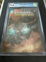 Knights of the Golden Sun #4 (Mad Cave) CGC 9.8 Rare, Low Census, Free Shipping!