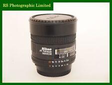 Nikon AF Ojo de Pez 16 mm F2.8 D Lente de enfoque automático. Stock no C1160