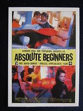 Filmplakatkarte cinema   Absolute Beginners   Eddie O`Connell