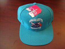 CHARLOTTE HORNETS WOOL   G-CAP SPLASH  SCRIPT VINTAGE 90'S HAT CAP  SNAPBACK