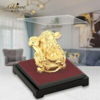 The god of wealth Feng shui decor Gold Foil Statue Lucky Wealth Office Ornament
