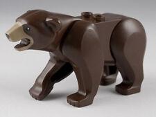 lego Animal Dark Tan / Brown Bear from 4440 / 4438 Rare W/ TRACKING