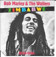 "45 TOURS / 7"" SINGLE--BOB MARLEY & THE WAILERS--ZIMBABWE / AFRICA UNITE--1979"