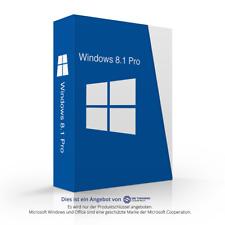 MS Microsoft Windows 8.1 Angebot 32 bit 64 bit Key Schlüssel ESD Vollversion