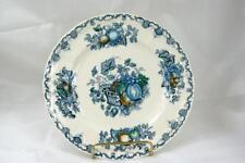Masons Fruit Basket Blue Luncheon Plate #C4892