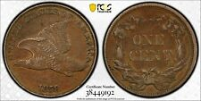 1858 PCGS FLYING EAGLE 1C XF45 LARGE LETTERS