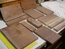 12 Pc. Black Walnut Lumber craft wood . Woodworking Planed
