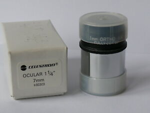 CELESTRON OCULAR ORTHO 7mm 1.1/4 Okular fully coated
