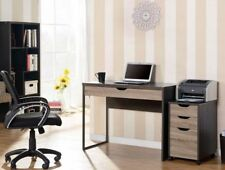 Reclaimed Wood Laptop Desk with Storage Drawer Home Office Furniture Modern