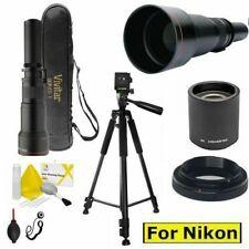 EXTREME VIDEO TELEPHOTO ZOOM LENS 650-1300MM 4K 8K VIDEO FOR NIKON D3400 D5600