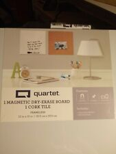 Quartet Combo Set Dry Erase Amp Cork Board Size 12x12