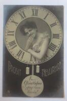 Neujahr, Frauen, Uhr,  1908 ♥ (80166)