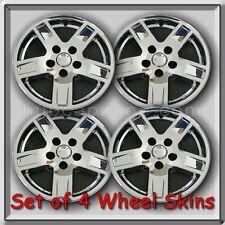 "2005-2007 Jeep Grand Cherokee Wheel Skins Chrome 17"" Hubcaps Wheel Covers Set 4"