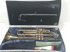 Antique Extremely Rare Conn Trumpet With Original Case & Accessories