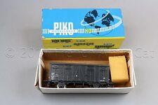 Y259 Piko train Ho 5/6449/071 wagon couvert europ noir SNCF 2 essieux 105 mm