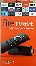 AMAZON FIRE TV STICK  with Alexa Voice Remote ( 2nd Generation)  NEW