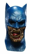 Zombie Batman Mask Latex Adults Fancy Dress Theme Costume Party Halloween