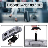 Portable 50kg Electronic Digital Weighing Scale Hanging Travel Suitcase Luggage