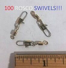 100 Rosco Sz.10 Brass Swivels w/Snap (821-10) Y-Wall