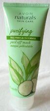 (100 ml = 8,00 €) Avon - Naturals Teebaumöl & Gurke Abziehmaske