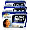 3x Breathe Right Nasal Strips 10 Tan Original Strips Large
