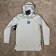 Duke Blue Devils Sweatshirt Nike Dri Fit NCAA On Field Apparel Hoodie Mens Small