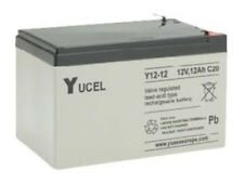 NP12-12 Yuasa Yucell 12v 12Ah Rechargeable Lead Acid Battery Y12-12