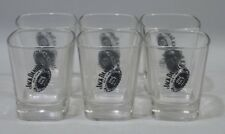 JACK DANIEL'S WHISKY 6 Verres shot shooter 6 cl NEUF