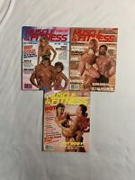 Vintage Muscle And Fitness Magazine 1984 & 86' Lot Of 3 - 1980's Workout Mags