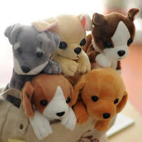 Cute Dogs Plush Pencil Case Stationery Gift Office School Tool Pencil Case S
