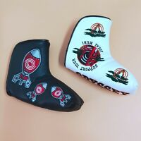 Golf Blade Putter Cover Headcover Support Your Rocket Magnet Cover for Odyssey