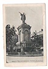 63 - cpa - CLERMONT FERRAND - Place de la cathédrale  (C4800)