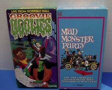 GROOVIE GHOOLIES MAD MONSTER PARTY VINTAGE VHS TAPES RARE CARTOON