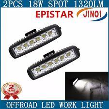 2X18W EPISTAR SLIM LED Work Light Bar Spot Beam Off  road Driving Fog Light 4WD