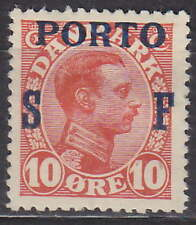 DENMARK - 1921 POSTAGE DUE - PORTOMARKE Mi.: 8 - *MLH*
