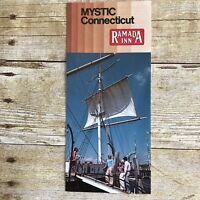 Vintage Hotel Brochure Ramada Inn Mystic Connecticut CT Travel Advertising