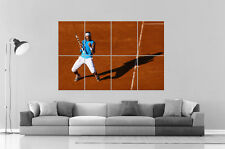 Tennis Nadal win Poster Grand format A0 Large Print
