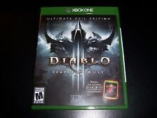 Replacement Case (No Game) Diablo Iii 3 Reaper Of Souls Xbox One 1