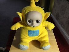 TELETUBBIE LARGE TALKING INTERACTIVE LA LA PLUSH RARE