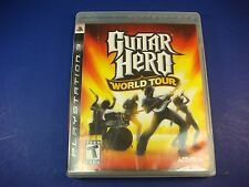 PlayStation 3,Guitar Hero World Tour Rated T-Teen Massive Soundtrack! Rock Out