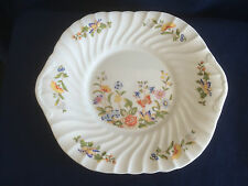 Aynsley Cottage Garden fluted eared sandwich plate (second-minor flaws)