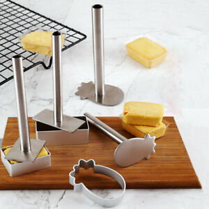 10pc/set Cookie Cutter DIY Biscuit Mold Dessert Bakeware Cake Mold Cookie Stamp