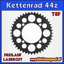 """Ersatzteil Elektro-Roller T8F-44z Laser Kettenrad 44 Zähne Freilauf  """"dicke Kett"""