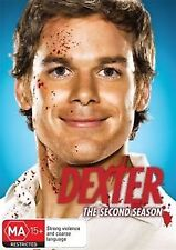 DEXTER - THE COMPLETE SECOND SEASON (2) - BRAND NEW & SEALED DVD (REGION 4)