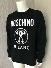 MOSCHINO DOUBLE QUESTION MARK SWEATSHIRT SIZE 52 XL RETAIL £185 BNWT
